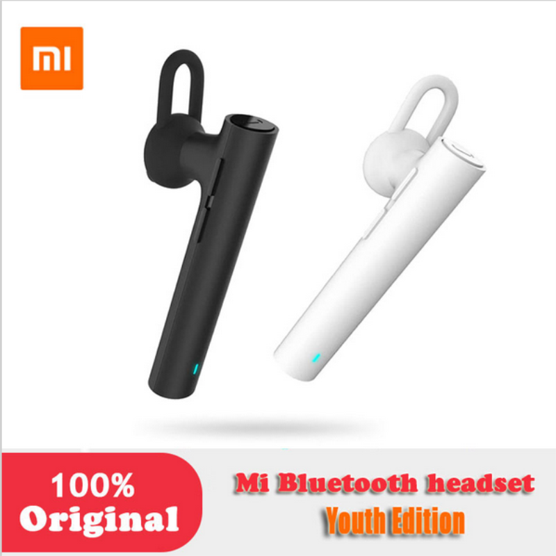 цена на Original Xiaomi Mi Bluetooth Earphone Youth Version Hands Free Bluetooth 4.1 Wireless earphone with MIC New for Mobile Phones
