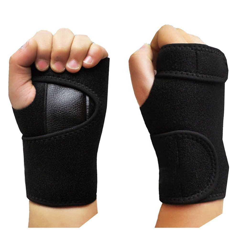 Weight Lifting Wrist Wraps Bandage Support Gloves Gym: New Crossfit Wristband Sports Wrist Bandage Support Gloves