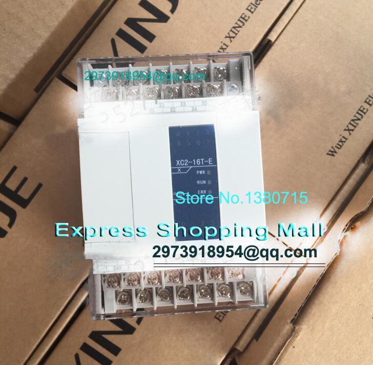 ФОТО New Original XC2-16T-E PLC AC220V 8point NPN input 8point transistor output 2COM cable