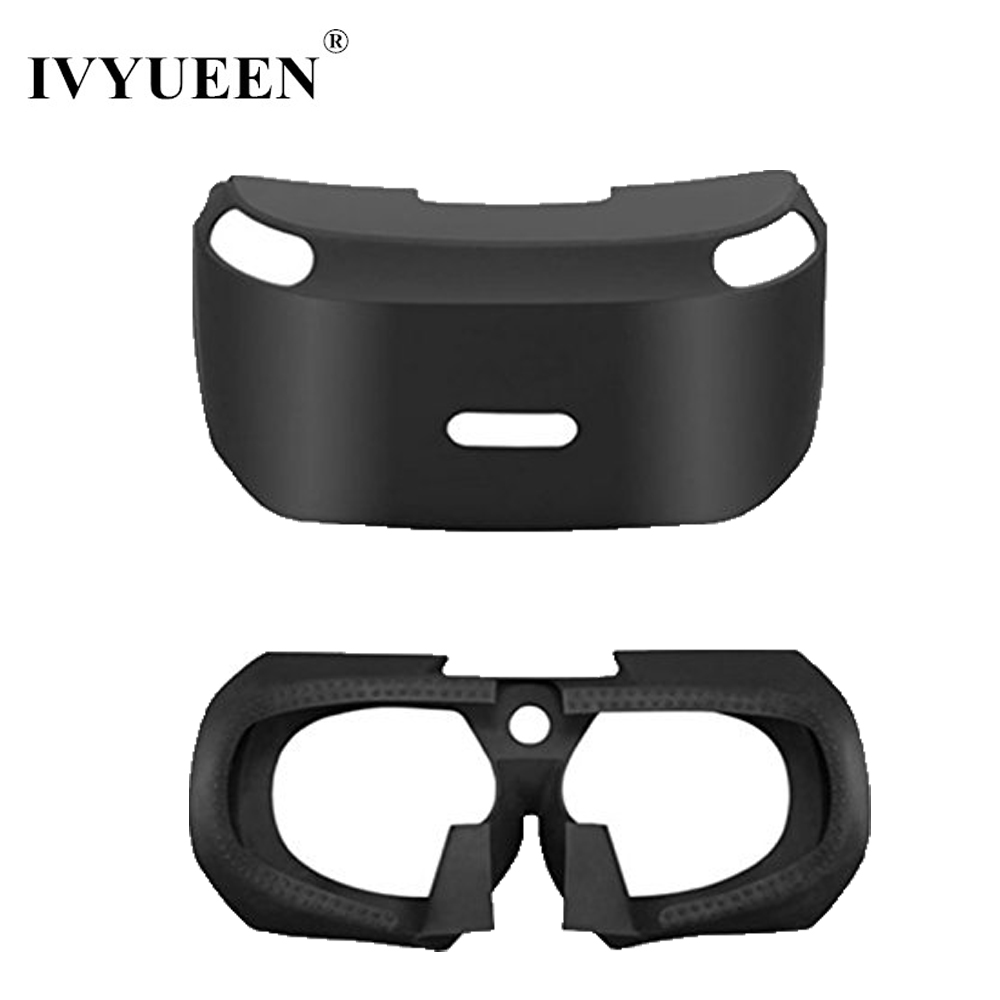 все цены на IVYUEEN Anti-slip Silicone Skin for Sony PS VR 3D Viewing Glass Protective Case For PS4 VR PSVR Headset Cover for PlayStation VR онлайн