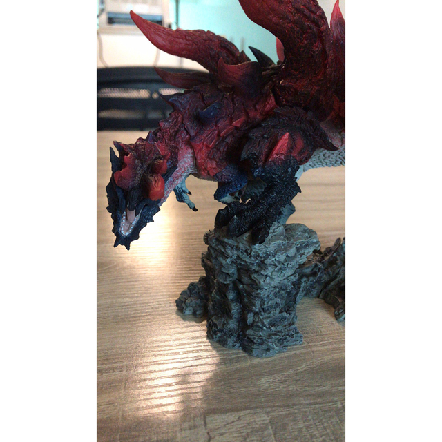 Monster Hunter World Handmade Original Genuine CFB Monster Hunter X Dragon Different Colors Collection Decoration Gifts 4