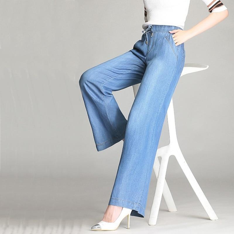 1 Pantalones 2018 Mujeres Jeans Para Baggy Pantalón Las Palazzo Novio Ta624 Señoras Mujer Ancho OgdwxZ6