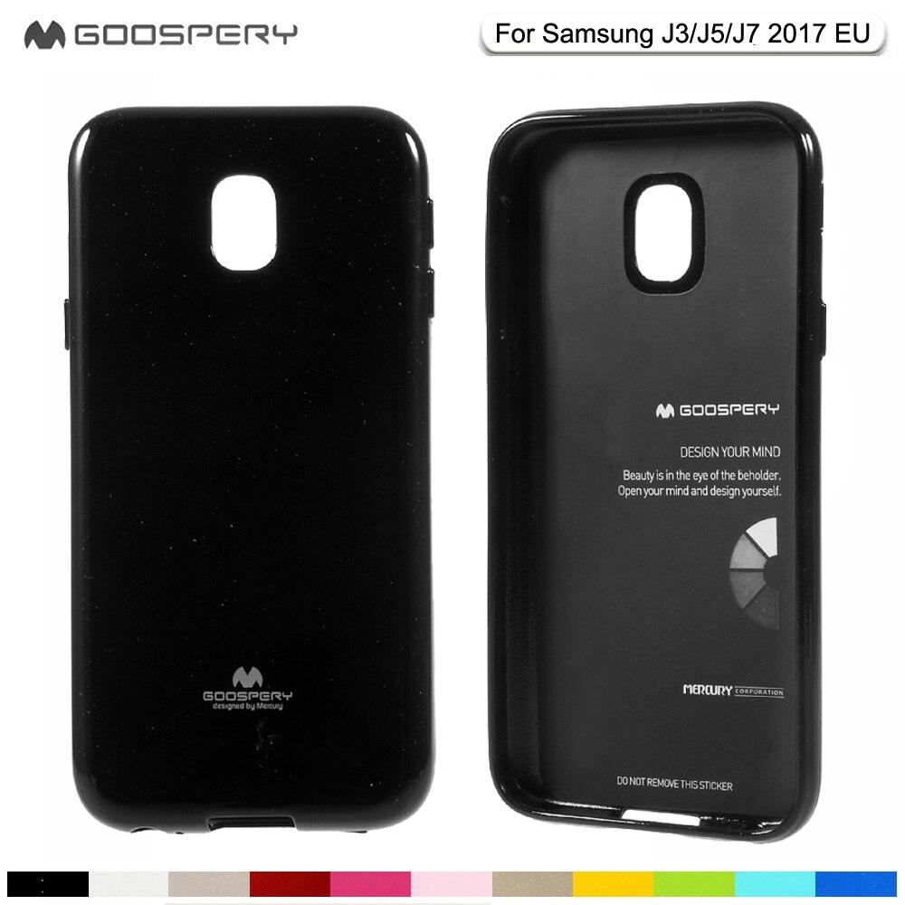 Mercury Goospery Glitter Powder Soft Tpu Case For Samsung A6 A8 Plus J7 Core Fancy Diary Original Galaxy J3 J5 2017 J330 J530 J730 Flash Jelly