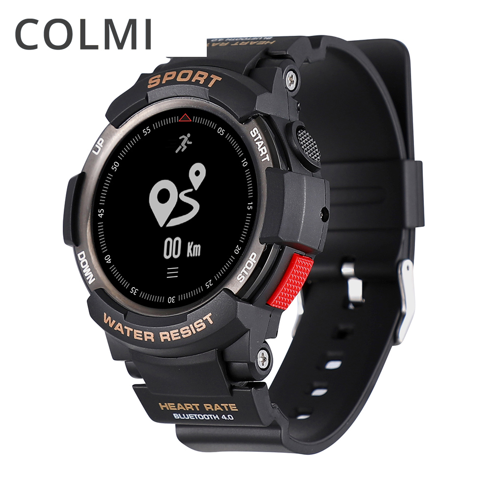 COLMI Bluetooth Smartwatch IP68 Waterproof Heart Rate Monitor Fitness Tracker Smart watch with Multi Sport Mode Clock