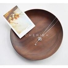 Tiff de lujo Personalizado Nombre Clave Collar Colgante de plata Esterlina Personalizado de joyas | joyas de Oro Blanco Plateó el Rhinestone Año Nuevo regalos