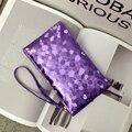 Nova Moda Feminina Carteira Bolsa De Noite Brilhante 6 Cores Disponíveis Menina HBA17 Handbang Com Zipper Frete Grátis