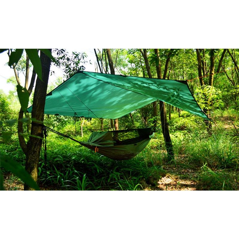 3F Ul Gear 15D Nylon Silicone Ultralight Tarp Awning Sun Shelter Lightweght Camping Equipment 3*3m 4*3m 5*3m-in Sun Shelter from Sports & Entertainment    3