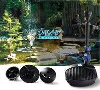 Германия oase комплект 2500 мини пруд фонтан насос пруд с рокарием Ландшафтный садовый фонтанный насос высокий подъем циркуляции воды