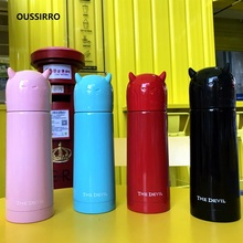 Fashion Cat Thermos Portable Creativity Movement Vacuum Flasks cup  Insulated Tumbler Travel Thermo Coffee Mugs