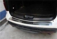 Для Ford Explorer 2013 2015 Магистральные подоконник педаль украшения накладка Педали для автомобиля с накаткой заднего бампера протектор нержавеющ
