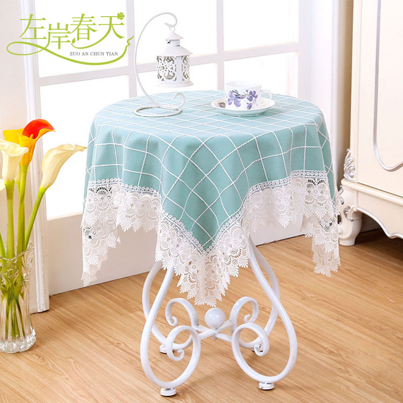 Small Square Table Round Table Bubu Arts Round Lace Tablecloth Square Table  Cloth Tablecloths Rectangular Coffee Table Fresh In Tablecloths From Home  ...