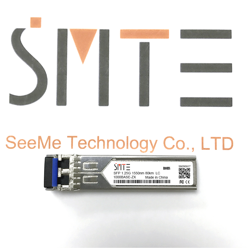 Compatible with GLC-ZX-SM 1000BASE-ZX 1.25G 1550nm LC Transceiver module SFPCompatible with GLC-ZX-SM 1000BASE-ZX 1.25G 1550nm LC Transceiver module SFP
