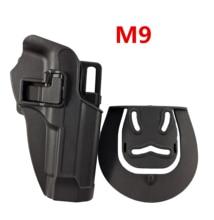 Tactical Gear Beretta M9 92 96 Pistol Gun Case Right Hand Holster Airsoft Shooting Belt Hunting Accessor