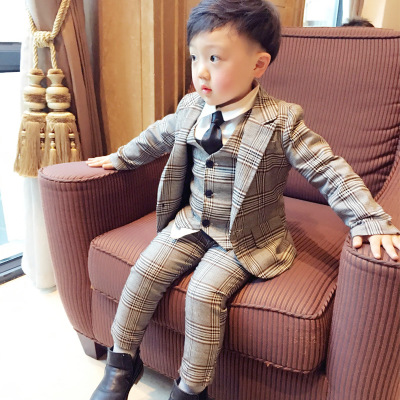New Spring suit for boy One button boys suits for weddings costume enfant garcon mariage boys blazer jogging garcon 3pcs/setNew Spring suit for boy One button boys suits for weddings costume enfant garcon mariage boys blazer jogging garcon 3pcs/set