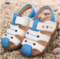 Бесплатная доставка детская обувь 2016 весна и осень мальчик мягким дном без - скольжения обувь для детей обувь sandals9903
