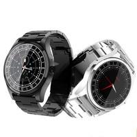 DT19 Bluetooth Smart Watch Men Metal Wristwatch Dial Call Heart Rate Blood pressure sport Fitness tracker SmartWatch