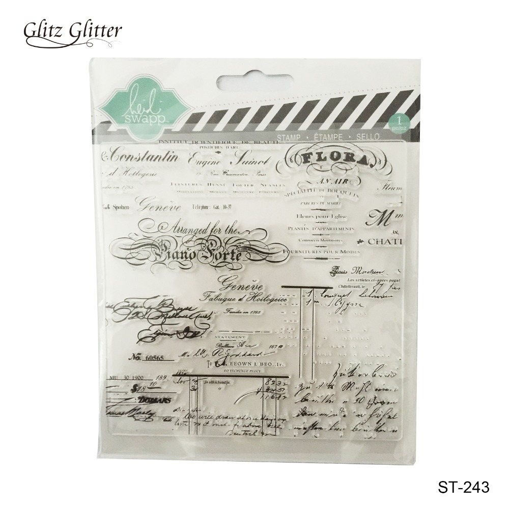 Scrapbook paper canada online - Scrapbook Diy Photo Card Account Rubber Stamp Clear Stamp Transparent Flora 13 5 13 5cm