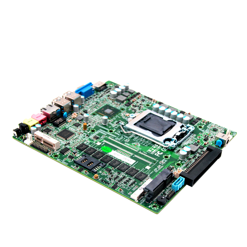 Mini-ITX Motherboard Support 24bit LVDS and OPS Expansion used original for onda h81ipc one machine mini itx mini industrial motherboard 12v msata lvds com usb3