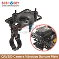 QAV250 FPV Camera Vibration Damper Plate Multicopter Damper Holder Bracket with Angle Adjustable