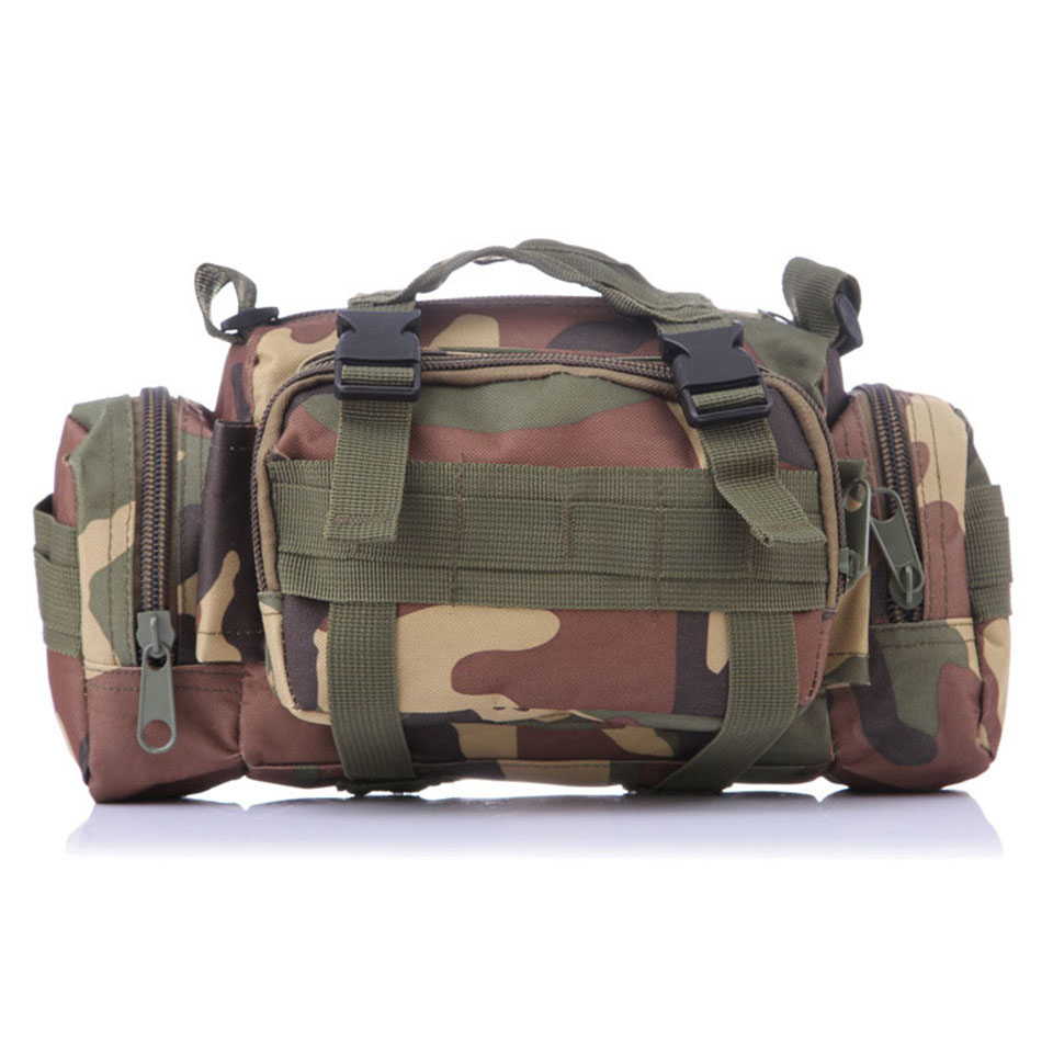 Outdoor Military Tactical Waist Pack Waterproof Oxford Molle Camping Hiking Pouch Backpack Bag Waist Bags mochila militar outlife new style professional military tactical multifunction shovel outdoor camping survival folding spade tool equipment