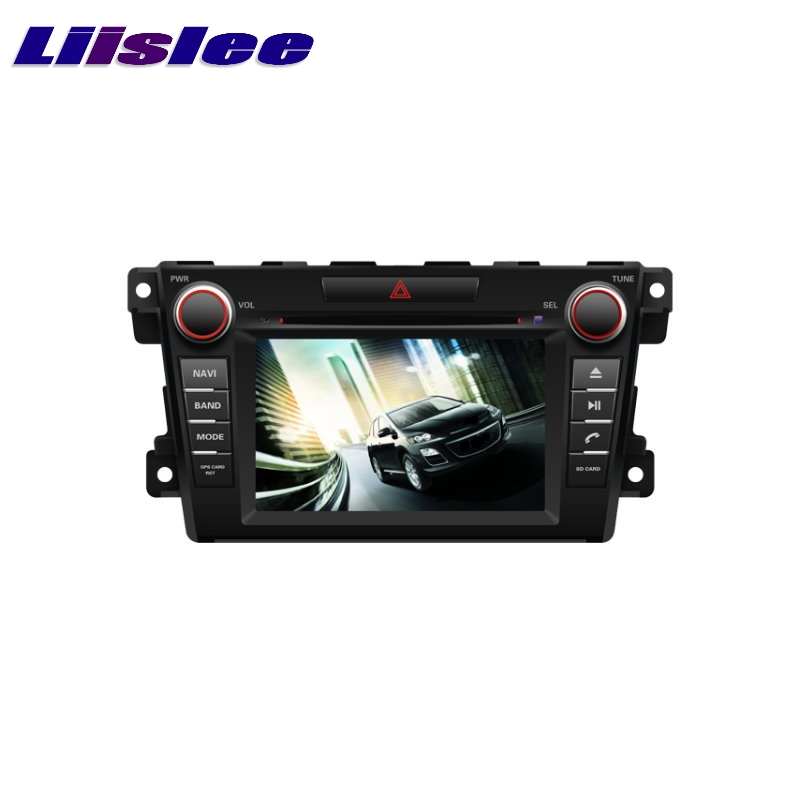 For Mazda CX-7 CX7 2006~2012 LiisLee Car Multimedia TV DVD GPS Audio Hi-Fi Radio Stereo Original Style Navigation NAV NAVI MAP yessun car android player multimedia for mazda cx 5 cx 5 2012 2016 radio stereo gps map nav navi no cd dvd 10 1 hd screen