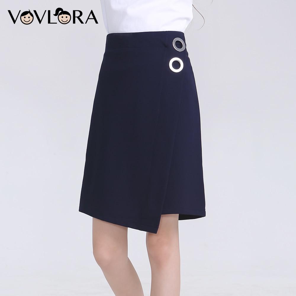 2018 School Girls Skirts Formal Knitted Kids Skirt Teenage Asymmetric Children Clothes Autumn Size 9 10 11 12 13 14 Years contrast stripe asymmetric hem skirt