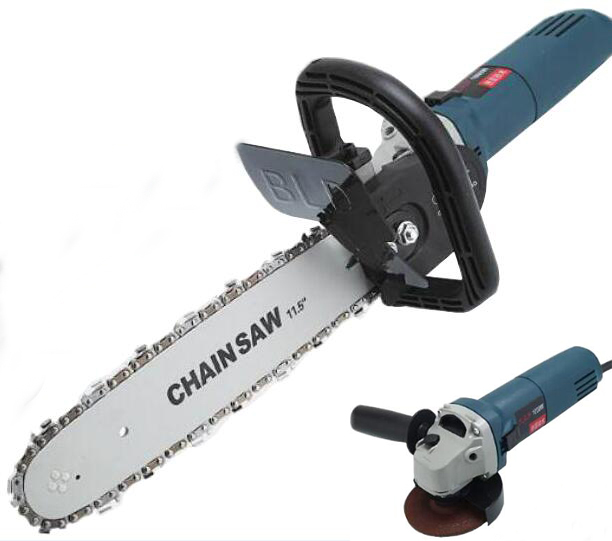 Portable Cutting Machine Modification Household  Electric Woodworking Chainsaw Logging Portable Chain Saw WoodMill Chain Saw Mod