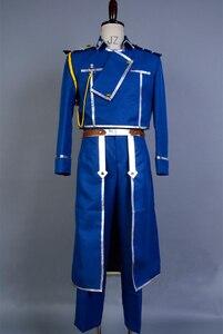 Image 2 - FullMetal Alchemist Cosplay Roy Mustang Cosplay Uniform Halloween Party Costumes