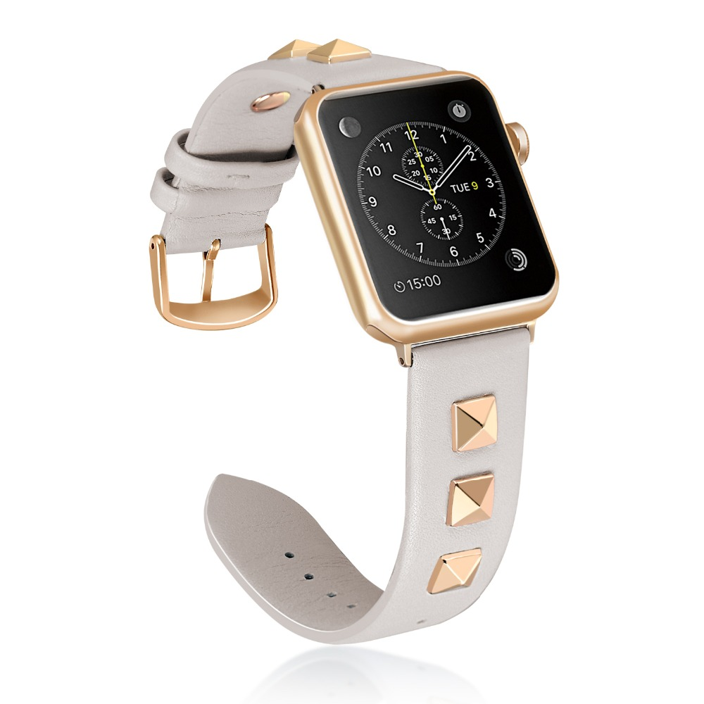 For Apple Watch Series 4 40/44mm Genuine Leather iwatch