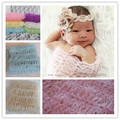 HOT SELL Mohair Diy Crochet Knit Lace Wrap Newborn Baby Photo Photography Prop Cloth Backdrop Shower Gift Newborn Photo Props
