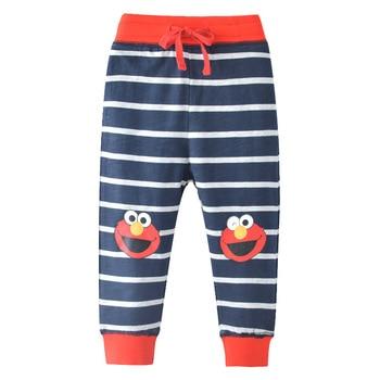 [DAISYKOO] Baby Boys Girls pants Cotton Cartoon Print Autumn Toddler Boys Clothes Harem Pants Kids Trousers Boys Long Pant C020