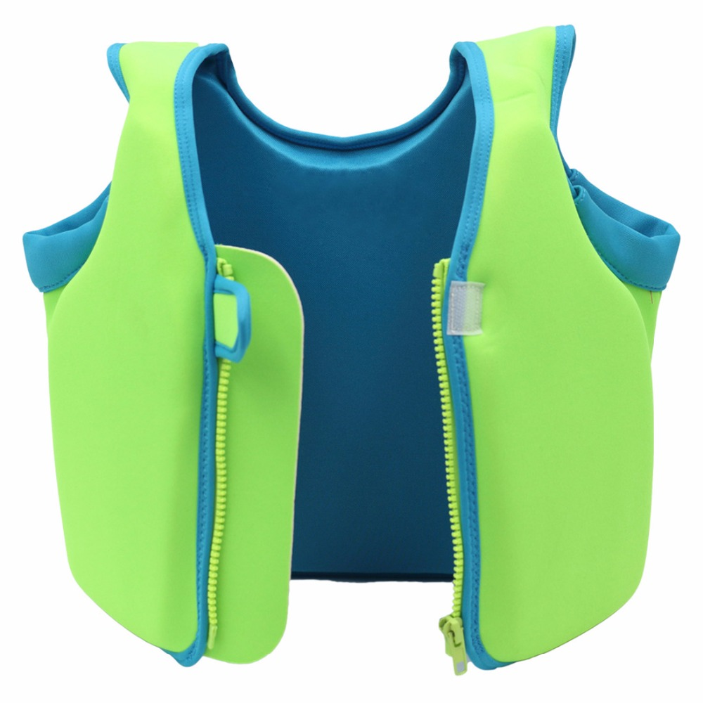 Kids Baby Life Vest SBR Boys Girls Swimming Boating Drifting Life Jacket Swimming Floatation Vest for Toddlers Pool Accessories