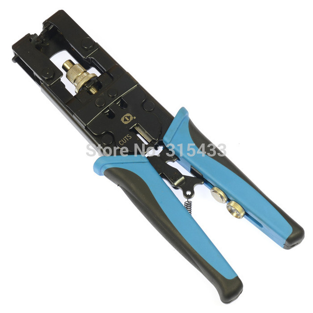 TL 5082R Universal Compression Tool BNC/RCA CRIMP TOOL RG59/RG6 1W5 ...