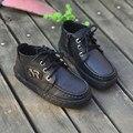 Натуральная кожа Дети Повседневная обувь Мальчиков Мокасины обувь для Детей Кроссовки Мальчики мокасин gommino обувь Бесплатная доставка