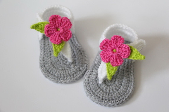 3fa787ae8c07d Baby Summer Shoes,Barefoot sandals Crochet crochet baby booties ...