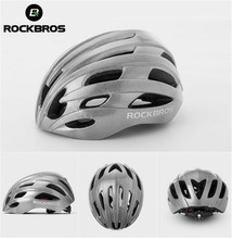 ROCKBROS Bike Bicycle Helmets Men Women Cycling Super Bright Safety Helmet Rode MTB Bike Night Reflective Layer Helmet