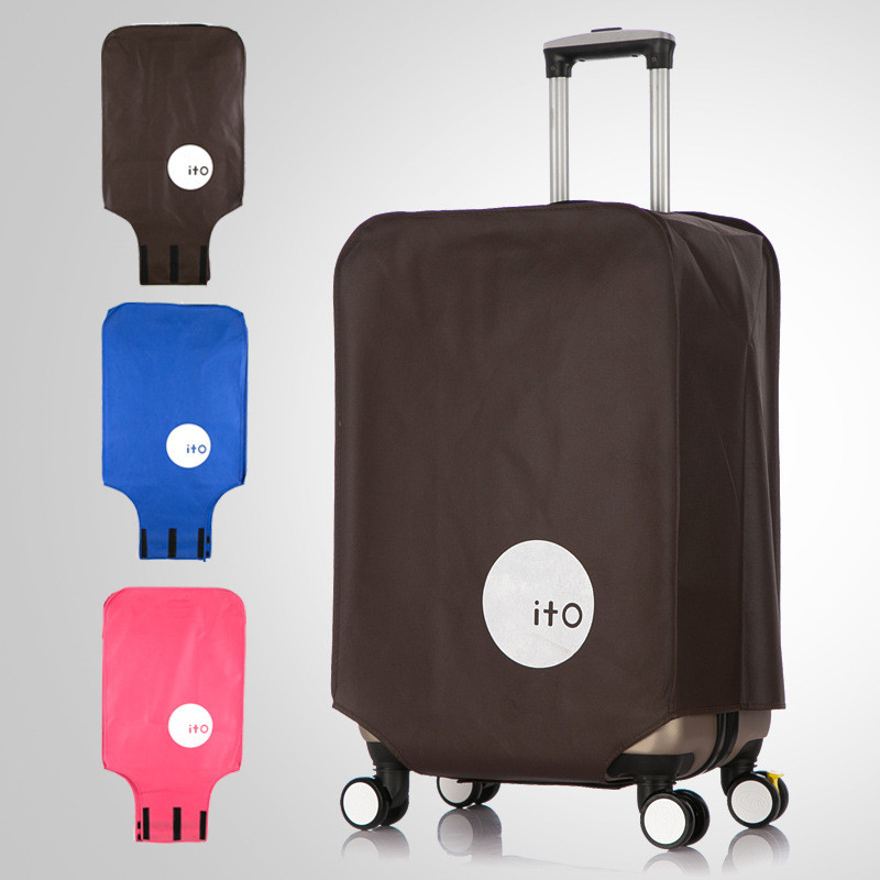 Travel On Road Anti-Dust Travel Suitcase Covers Durable Luggage Protective Covers For Trunk Case Apply To 20