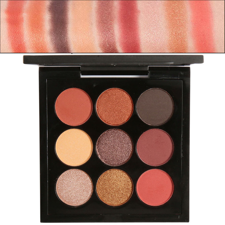 Focallure 1pc Rainbow Highlight Eyeshadow palette Baked Blush Face Shimmer Color New MA39
