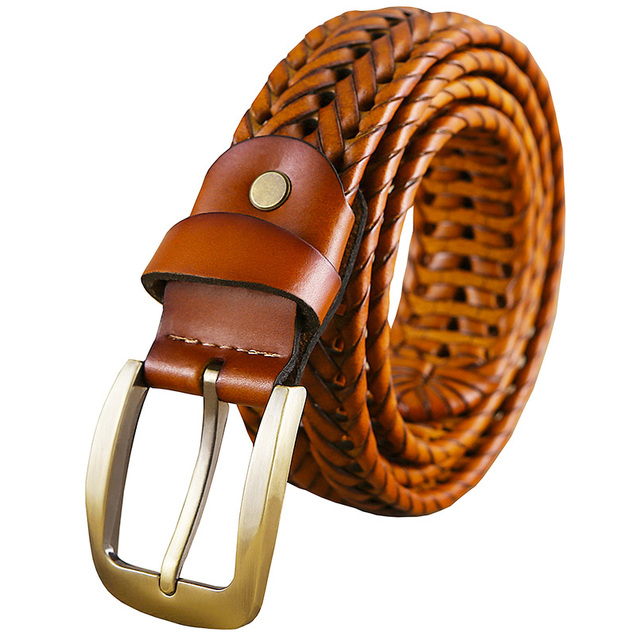 Plated Leather Belt 4