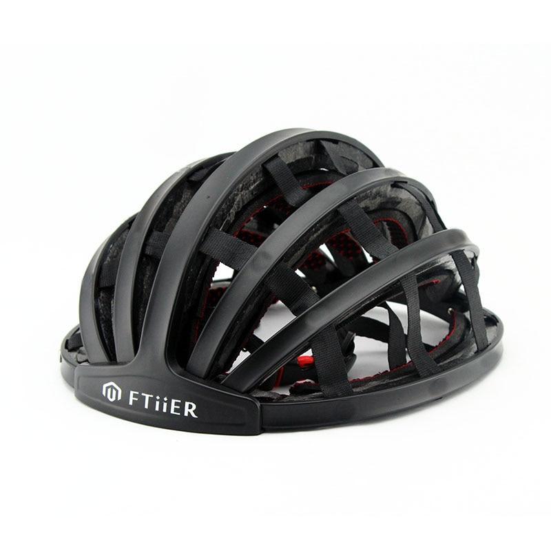 2018 New Foldable Cycling Helmet Portabel Ultralight Road Bike Helmet Unisex Bicycle Helmet Adult Mountain Capacete Ciclismo