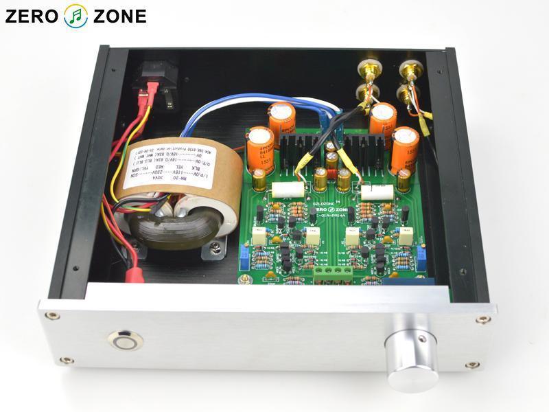ZEROZONE Finished HE01A Hifi Preamplifier Base on Marantz PM14A pre-amp circuit L4-16
