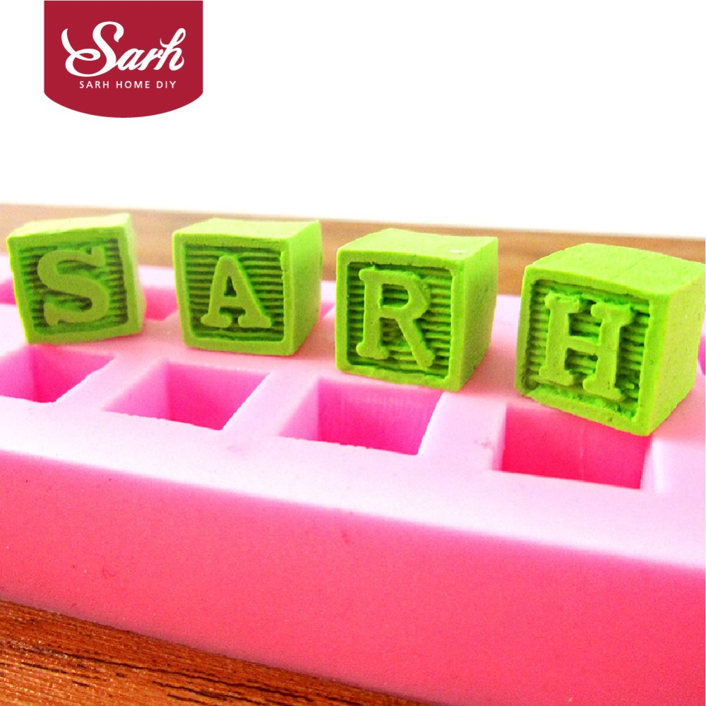 how to make 3d letters out of fondant
