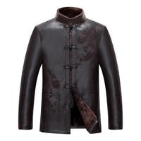 Dragon Winter jackets Men Sherpa New Arrival Warm Fur Thick Coat Loose Size 5XL 4XL outwear men's coats casual designer Clothing