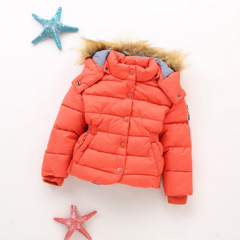 Winter new style children's cotton-padded jacket Korean version of boys and girls slim body warm and thick cotton-padded jacket 2016 autumn and winter fashion explosion models men s warm thick cotton korean slim casual jacket