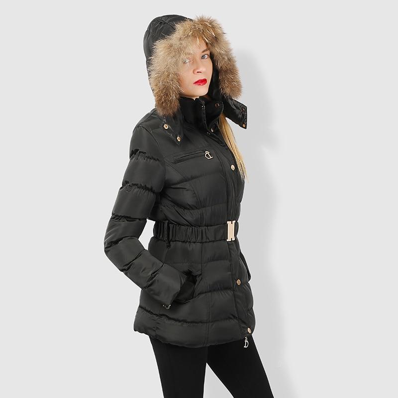 Johnature Winter Jacket Women Slim Thick Warm 2018 New Winter High Quality Jacket Coats Female Hooded Belt Cotton   Parkas   Coats