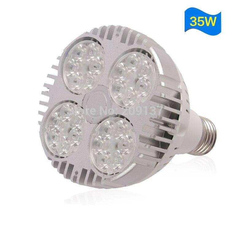 Metal Halide Lamp Led: High Power PAR30 35W LED Spotlight Lamps E27 Base Led Down