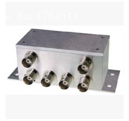[BELLA] Mini-Circuits ZFSC-6-110 1-500MHz Six BNC/SMA Power Divider