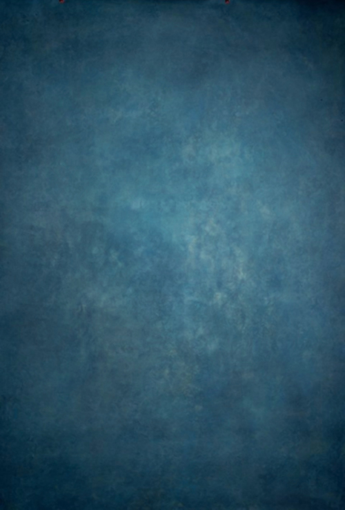 Dark Blue Washable Cotton Polyester Photography Background