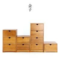 Японское народное искусство ящик для хранения древесины деревянный ящик стола косметические подарочные Jewelry ящик для хранения отделочных