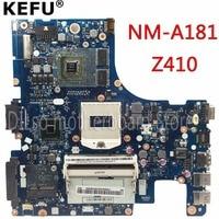 KEFU NM A181 motherboard Für Lenovo AILZA NM A181 Z410 laptop motherboard Z410 mainboard rev2A freies verschiffen-in Motherboards aus Computer und Büro bei